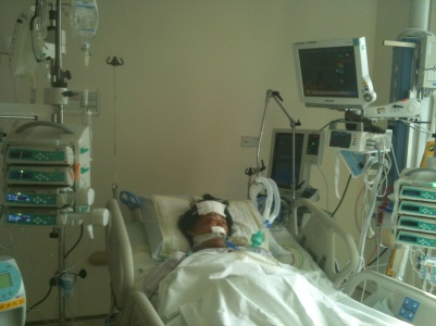 Kirsten in ICU